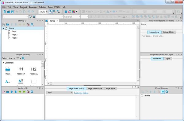 Axure RP Pro(产品原型设计工具) V7.0.0.3189 英文版