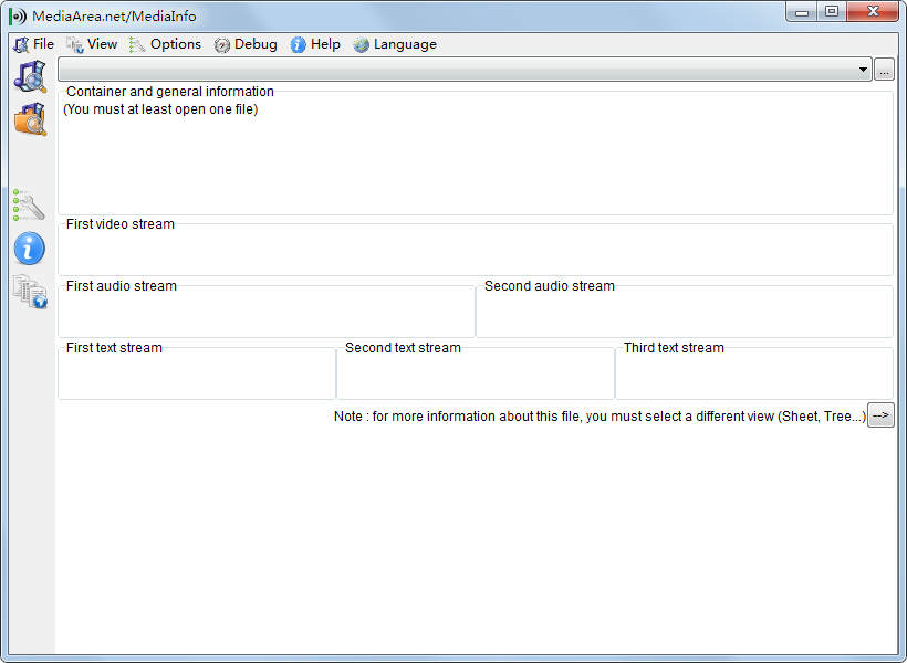 MediaInfo(检测视频编码信息) V0.7.98 多国语言版
