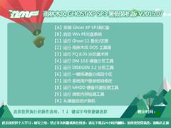 雨林木风 GHOST XP SP3 暑假装机版 V2015.07