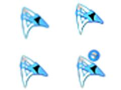 蓝色精灵鼠标指针