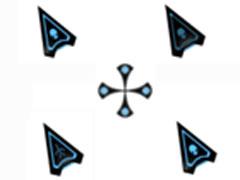 黑夜星空鼠标指针