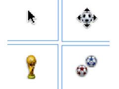 足球鼠标指针