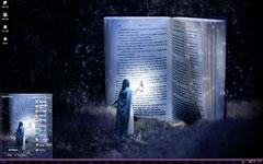 少女研究魔法xp主题