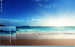 暖阳海浪风景xp主题