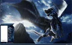 怪物猎人风翔龙xp主题