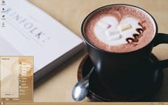 咖啡小憩时光xp主题