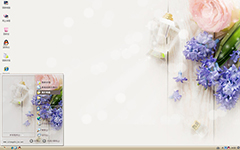 紫色梦幻唯美XP主题