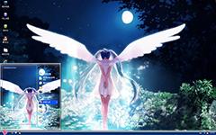 天使之翼初音XP主题