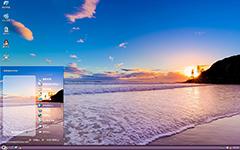 异国风景唯美之海XP主题