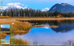加拿大班夫公园奇异风景Win7主题