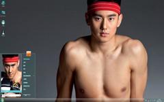 游泳健将宁泽涛Win7主题