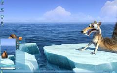 冰川时代4松鼠奎特Win7主题
