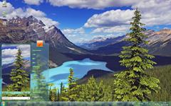 加拿大班夫公园自然美景Win7主题