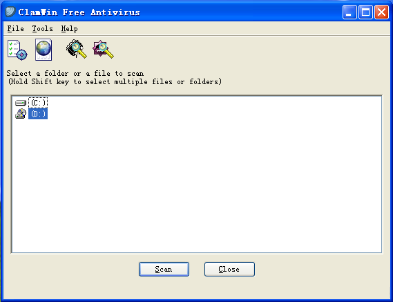 ClamWin(开源免费杀毒软件)V0.99.1 官方版
